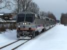 New Jersey Transit ACES at Hammonton, NJ on Feb 13, 2010