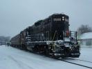 PRR 7000 at Tuckahoe, NJ on Dec 19, 2009. Photo by Thomas Duke.