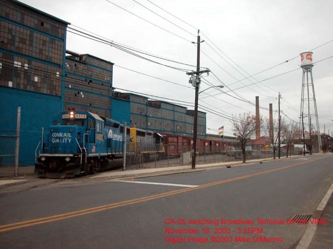 CA-05 at Broadway Terminal, Gloucester City NJ.