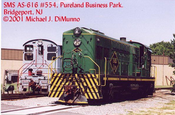 SMS Locomotives at Pureland Industrial Park.