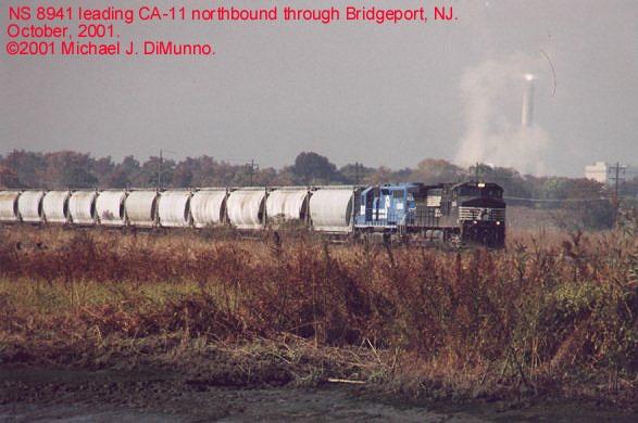 CA-11 at Bridgeport, NJ.