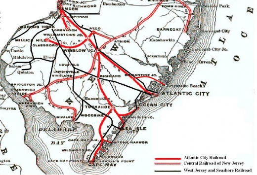 Atlantic City Railroad ACRR SJRailcom Wiki